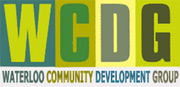 Waterloo Community Development Group logo